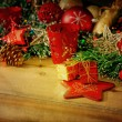 Old fashioned christmas decoration — Stock Photo #36616439