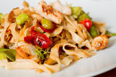 Fried noodle asian food — Stock Photo