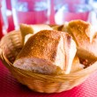Bread in basket — Stock Photo #39346361