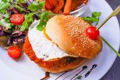 Hamburguesa con queso — Foto de Stock