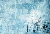Muzyka grafika tła — Zdjęcie stockowe
