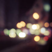 Bokeh defocused lights and shadow — Stock Photo