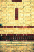Old red brick wall — ストック写真