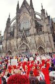 Cologne Carnival parade  — Stock Photo