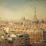 Retro style Eiffel Tower — Stock Photo #42069107