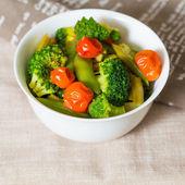 Cuencos de verduras variedad — Foto de Stock