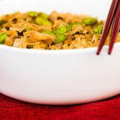 揚げ麺アジア食品 — ストック写真