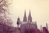 Catedral gótica em colónia, alemanha — Foto Stock