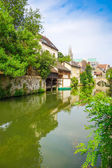Antique Village in france — Stock Photo