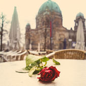 Berlin Cathedral Church. German Berliner Dom — Stock Photo