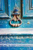 Porta in legno vecchio — Foto Stock