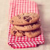 Chocolate chips cookies — Foto de Stock