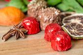 шоколад крупным планом — Стоковое фото