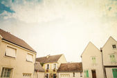 античная деревня в европе франции — Стоковое фото