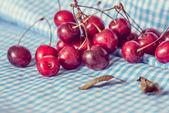 Cerejas frescas — Fotografia Stock