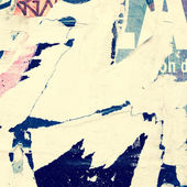 Vecchio grunge texture di poster — Foto Stock