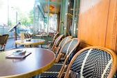 Kaffee-terrasse — Stockfoto