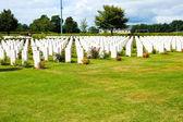 Cemitério de guerra americano — Fotografia Stock
