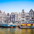 Amsterdam canals — Stock Photo #46655759