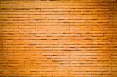 Parede de tijolo vermelho velho — Foto Stock