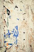 Cartazes velhos — Foto Stock