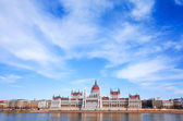 Building of Parliament in Budapest — Stock Photo