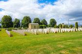 Amerikaanse Oorlogsbegraafplaats, omaha beach, Normandië — Stockfoto