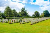 American War Cemetery,Omaha Beach, Normandy — Stock Photo
