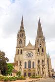 古色古香的教堂建筑在法国 — 图库照片