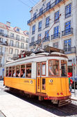Typical,Tramway in Lisbon, Portugal — Stock Photo