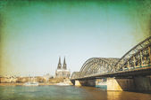 Gothic Cathedral in Cologne — Stockfoto