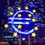 Euro Sign. European Central Bank (ECB) — Stock Photo #48559037