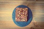 Chocolate Brownie cake — Stock Photo