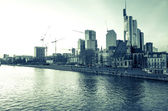 River view Frankfurt, Germany — Stockfoto