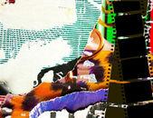 Toller film-streifen — Stockfoto