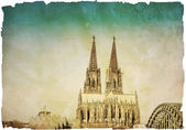 View of Gothic Cathedral in Cologne, Germany — Stock Photo