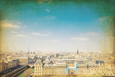 Old fashioned paris france — Stock Photo