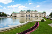 Schoenbrunn Palace, a UNESCO World Heritage Site in Vienna — Stock Photo