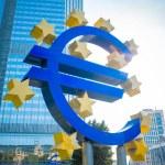 Euro Sign. European Central Bank (ECB) — Stock Photo #50220531