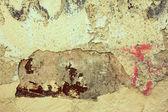 Brązowy nieczysty ściany — Zdjęcie stockowe