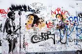 Berlínská zeď — Stock fotografie