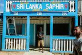 Ilakaka city — Stock Photo