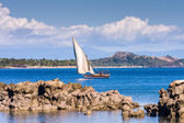 Seascape near Nosy Be island — Stock Photo