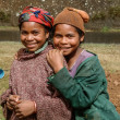 Malagasy young girls — Stock Photo