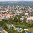 Olsztyn town - aerial view. — Stock Photo