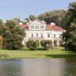 Stock Photo: Old palace in Zloty Potok - Poland, Silesia.