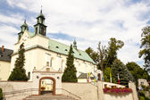 Sanctuary, Mother of God in Lesniow - Poland — Stock Photo