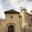 Stock Photo: Front of castle in Bobolice - Poland, Silesia.