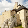 Jura region - Bobolice castle. — Stock Photo