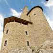 Tower of Bobolice castle - Poland. — Stock Photo